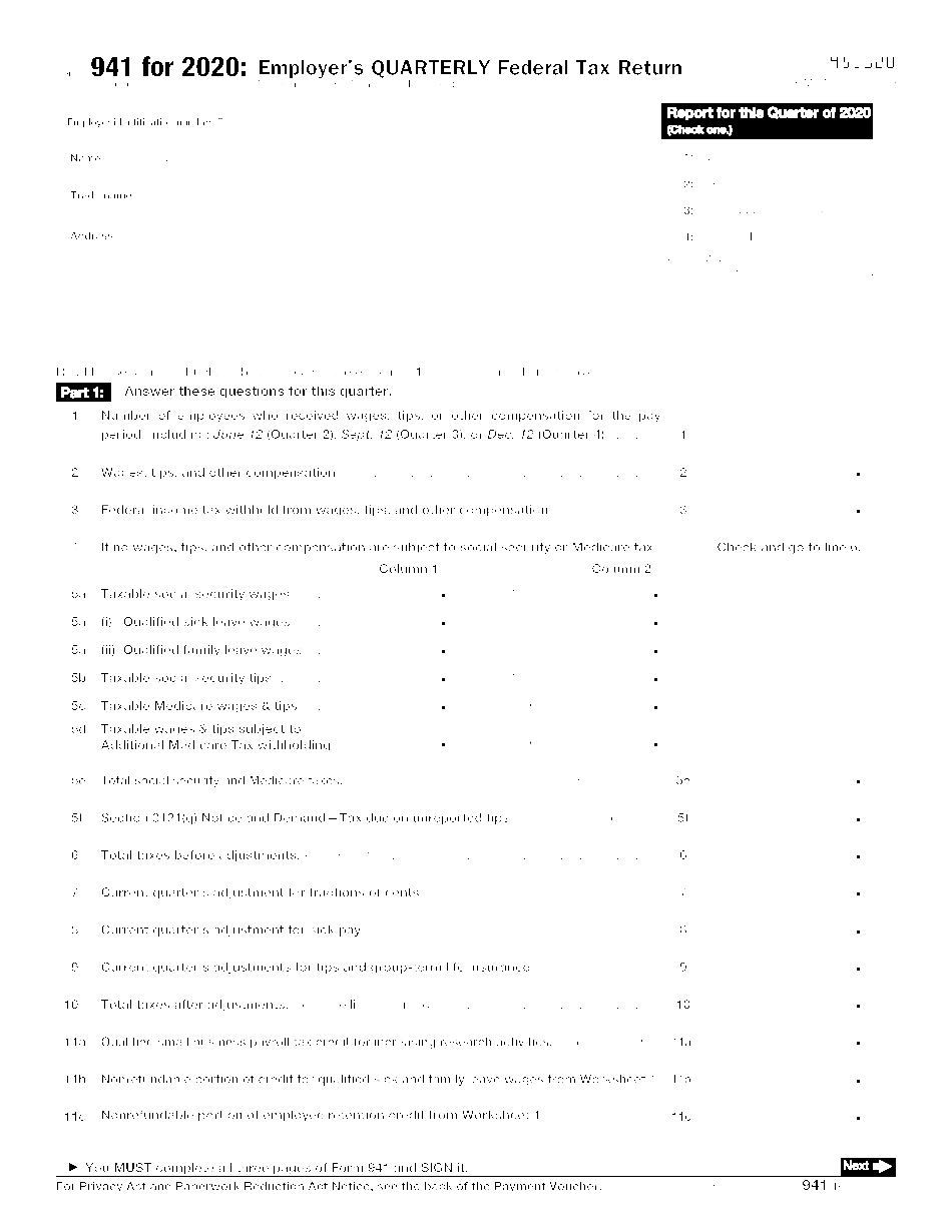 941 form