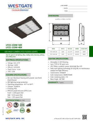 Fillable Online Flood Lights Outdoor Security Lighting The Home Depot Fax Email Print Pdffiller