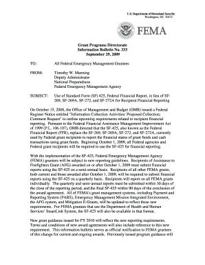 Fema Form Sf 425 - Fill Online, Printable, Fillable, Blank | PDFfiller