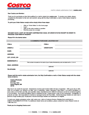costco job application form fill online printable fillable