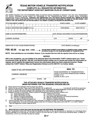Bill Of Sale Form Texas Affidavit Of Motor Vehicle Gift Transfer ...