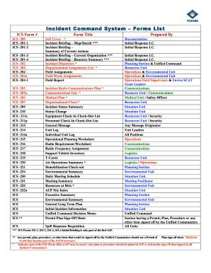 ics form 214 Templates - Fillable & Printable Samples for PDF ...