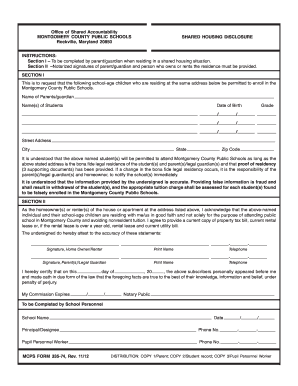 2012 Form MD MCPS 335 74 Fill Online, Printable, Fillable, Blank