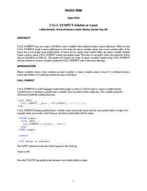 call symput global or local sugi pdf form