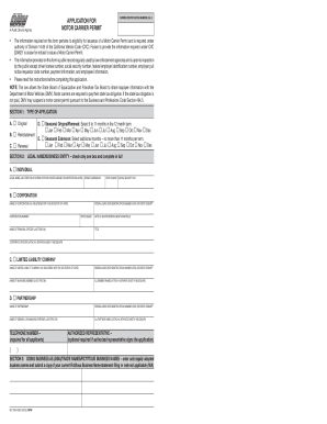 2012 form ca mc 706 fill online printable fillable for California dmv motor carrier permit