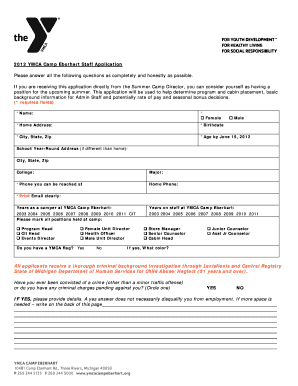 how to fill job search record form