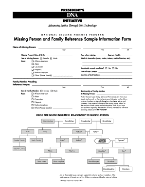 family information form sample fill online printable fillable