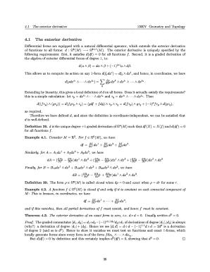 The Exterior Derivative