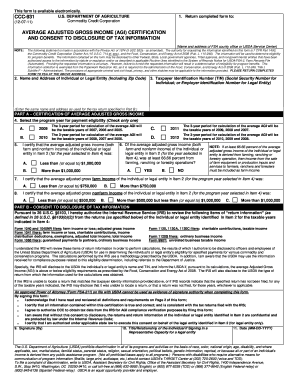 Ccc 931 - Fill Online, Printable, Fillable, Blank | PDFfiller