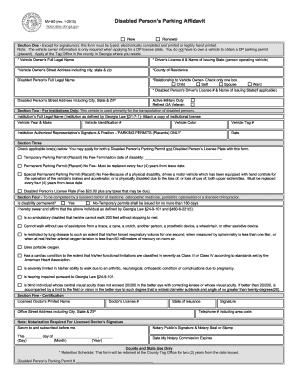 2013-2017 Form GA MV-9D Fill Online, Printable, Fillable, Blank ...