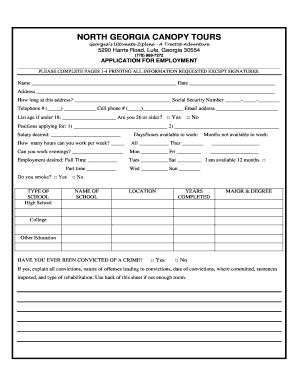 generic job application form templates fillable printable samples for pdf word pdffiller. Black Bedroom Furniture Sets. Home Design Ideas
