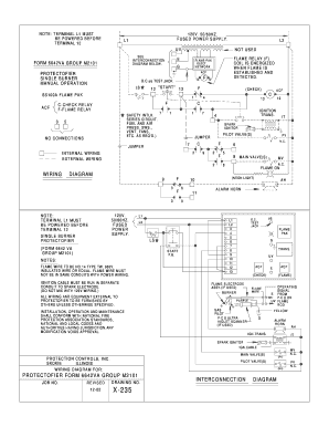 5392192 flame pak relay fill online, printable, fillable, blank pdffiller protectofier wiring diagram at soozxer.org