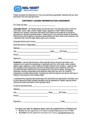Editable Copyright Agreement Pdf To Submit Online Artwork