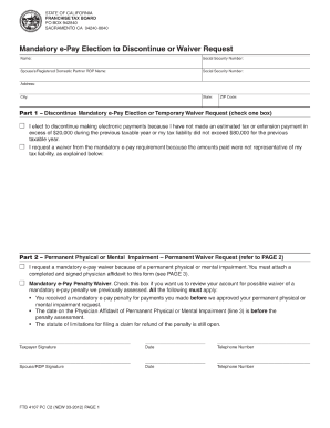 Ftb 4107 - Fill Online, Printable, Fillable, Blank | PDFfiller