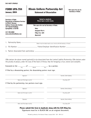 2004 Form IL UPA-704 Fill Online, Printable, Fillable, Blank