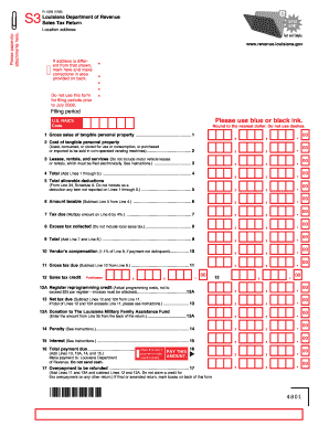 Louisiana Sales Form - Fill Online, Printable, Fillable, Blank ...
