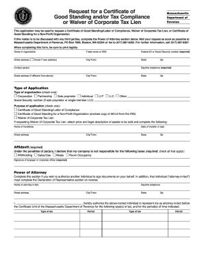 Massachusetts Certificate Tax - Fill Online, Printable, Fillable ...