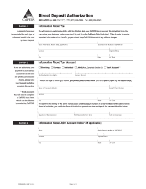 Calpers Service Retirement Application - Fill Online, Printable ...