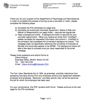 Thank you for your support of the Department of Psychology and ... - psych colorado