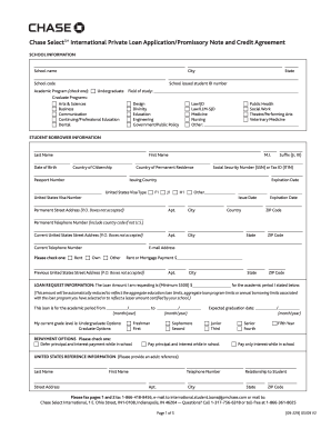 Chase Loan Application Form - Fill Online, Printable, Fillable ...
