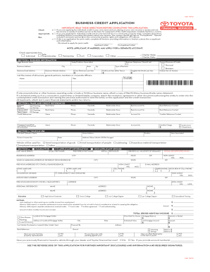 32 printable credit application for a business account forms and