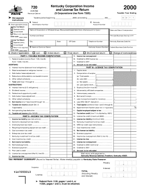 kentucky department of revenue power of attorney form