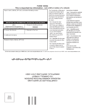 Printable 1099 For State Of Md - Fill Online, Printable ...