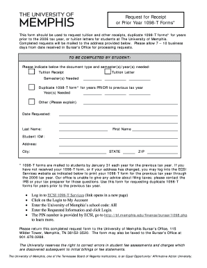 Tax Form For University Of Memphis - Fill Online, Printable ...