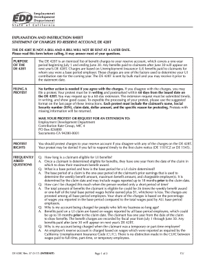 De 428t Form - Fill Online, Printable, Fillable, Blank   PDFfiller
