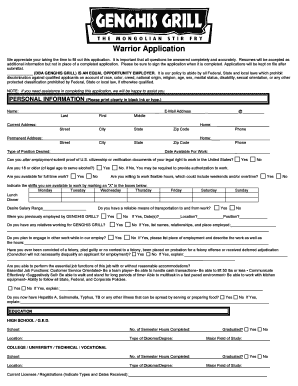ganghis grill printable application form