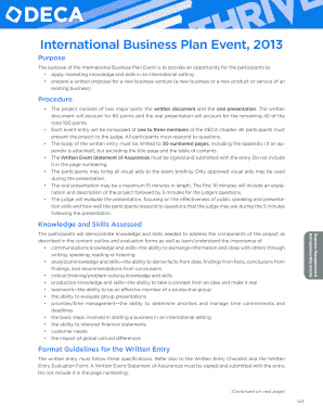 deca 2013 international business plan form