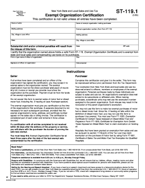 17+ [ Printable Fillable Tax Exempt Form ] | Application ...