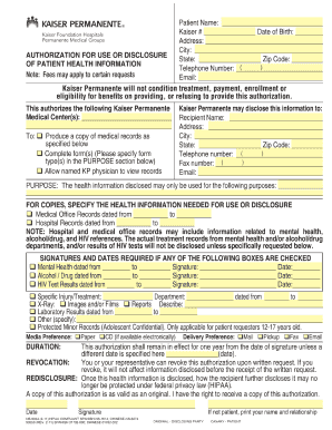 2015-2017 Form CA Kaiser NS-9934 Fill Online, Printable, Fillable ...