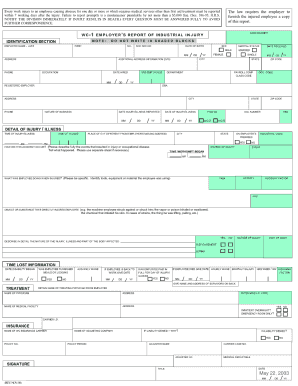State Of Hawaii Wc 1 Form - Fill Online, Printable, Fillable ...