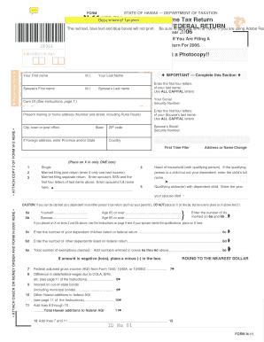 2006 Form Hi N 11 Fill Online Printable Fillable Blank Pdffiller