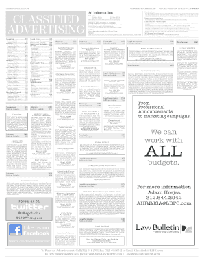 chicago daily law bulletin elew form
