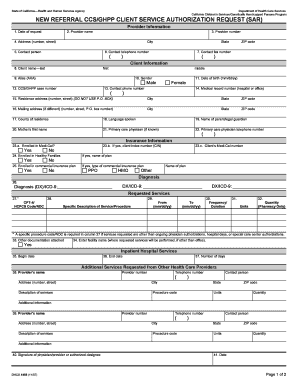 Ccs New Referral Form - Fill Online, Printable, Fillable, Blank ...
