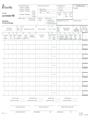 Form 1069 - Fill Online, Printable, Fillable, Blank   PDFfiller