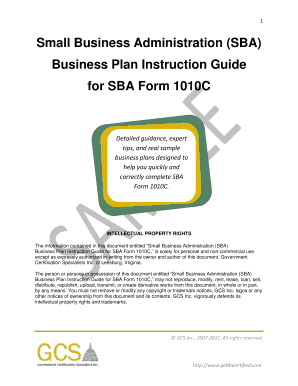 Free Business Plan Template Forms - Fillable & Printable Samples for ...
