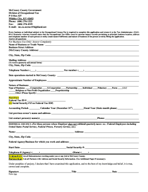 mccreary county tax administrator form