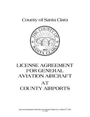 santa clara county residential lease agreement form