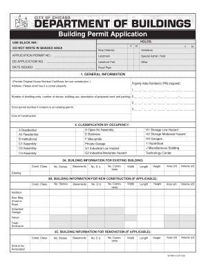 City Of Chicago Building Permit Search
