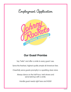 johnnys restaurant certificate employment