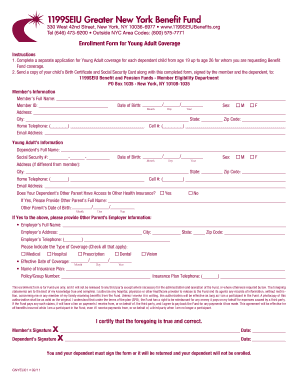 5486611  Benefits Application Form on