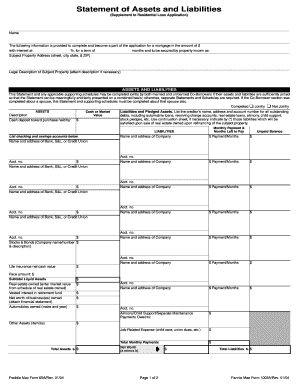 personal asset and liability template - Pertamini.co