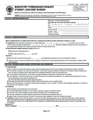 Forbearance Form - Fill Online, Printable, Fillable, Blank | PDFfiller