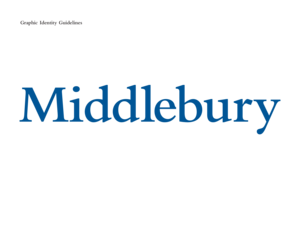 The Usage Guide - Middlebury College - middlebury