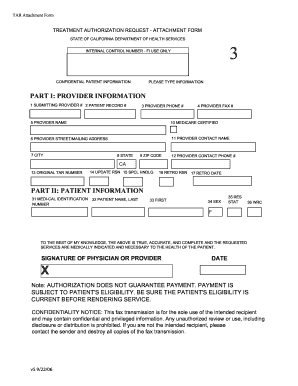 Tar 3 Attachment Form - Fill Online, Printable, Fillable, Blank ...
