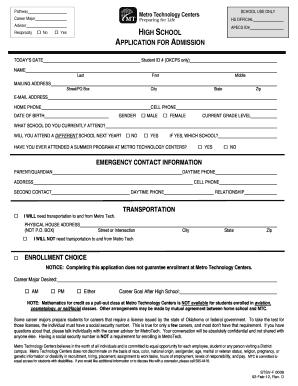 School Application Form Pdf - Fill Online, Printable, Fillable ...