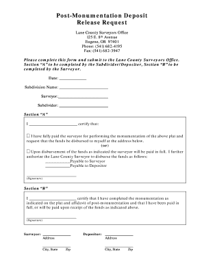 deposit release form  Deposit Release Form Entertainment - Fill Online, Printable ...